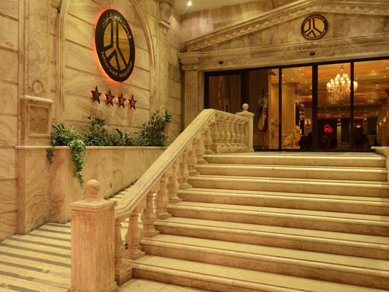 Tehran Grand Hotel II Eingang