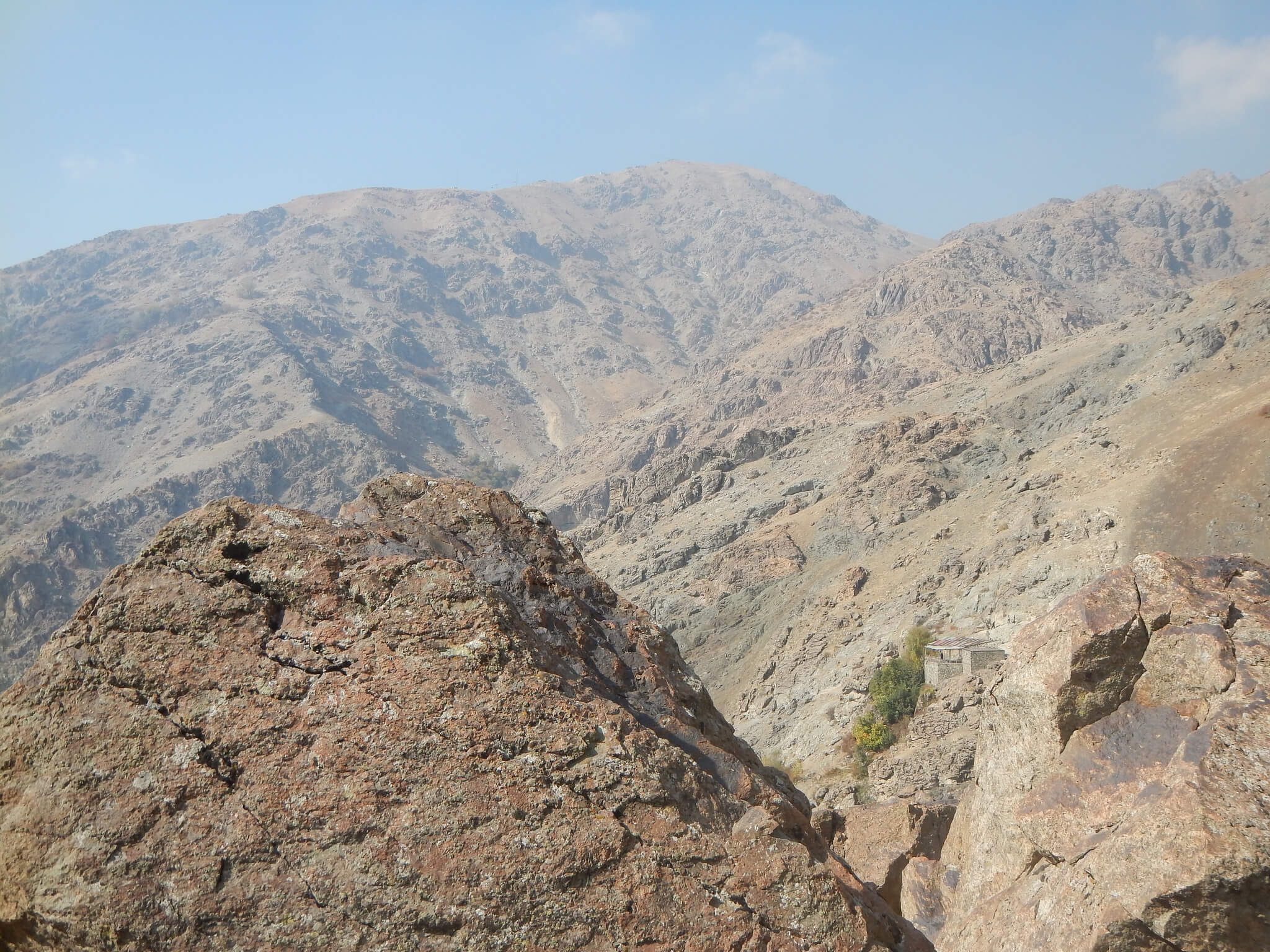 mountaineering in Darband in Tehran