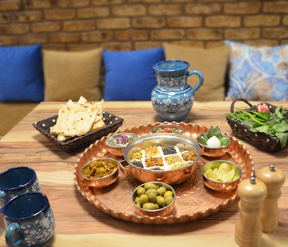 Restaurants at Darband in Tehran