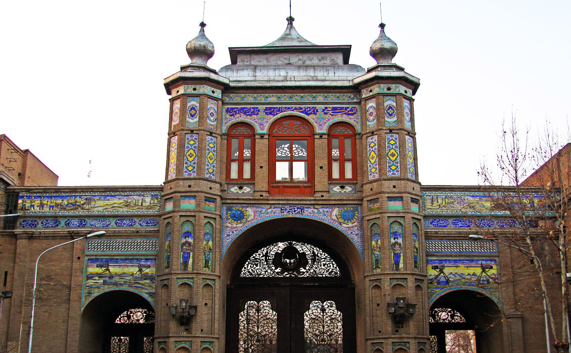 Portal of Bagh-e Meli
