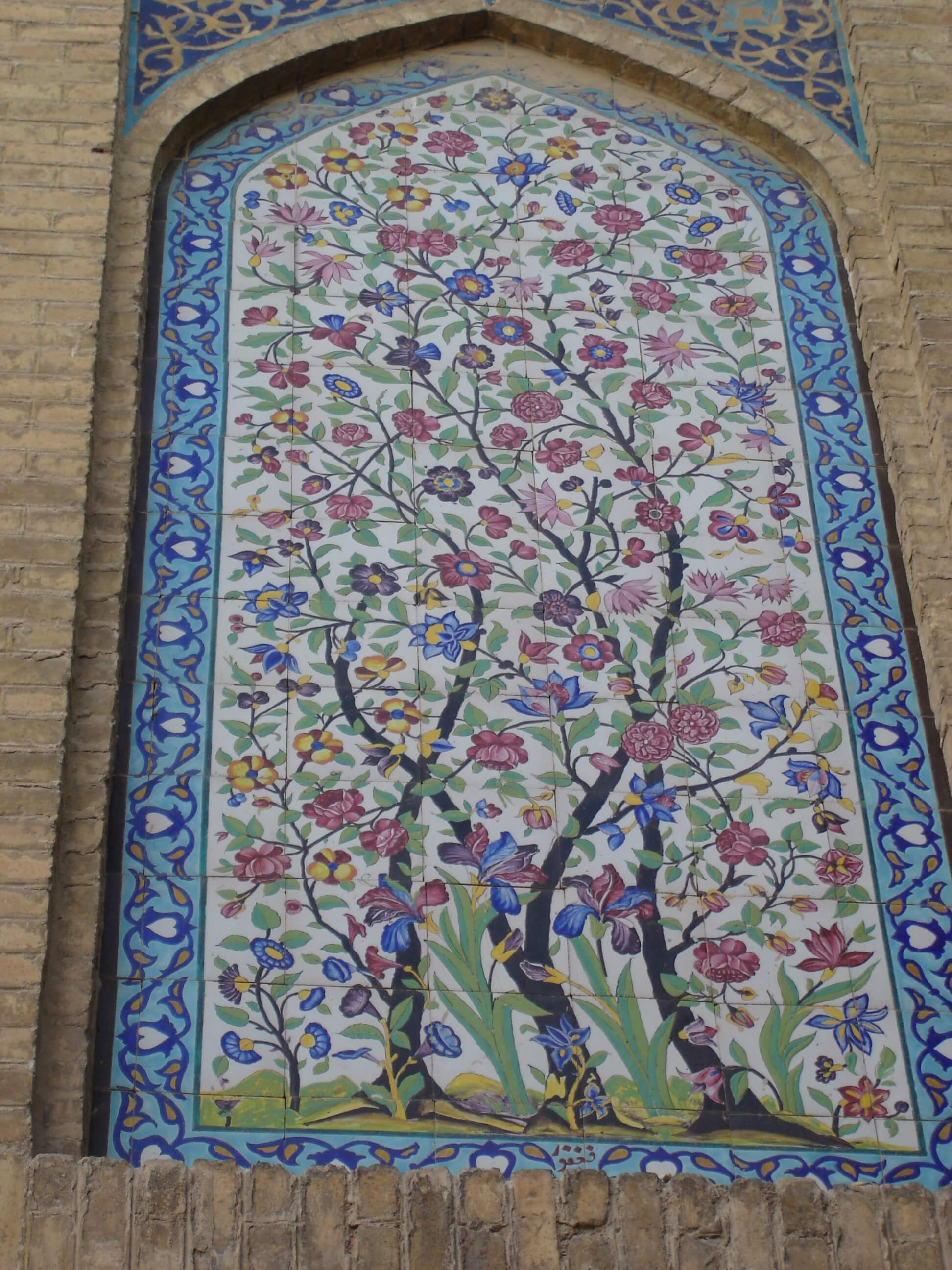 Atigh Jame Mosque - Nodbeh Wall
