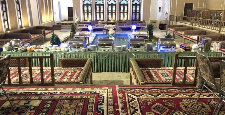Yazd Haft Khan Restaurant Close to Yazd Water Museum