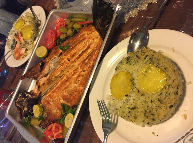 Baliq Restaurant in Tabriz