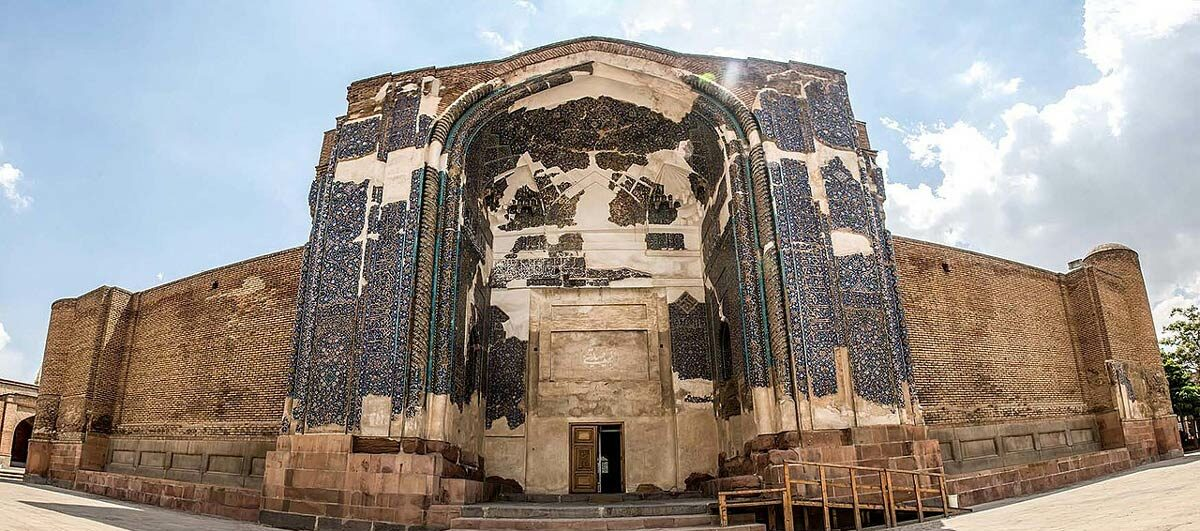 Kabud Mosque - Blue Mosque - Tabriz Attractions