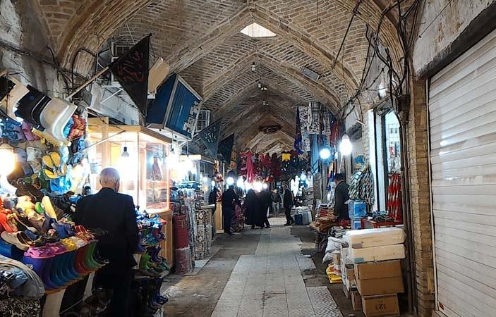 Zanjan Grand Bazaar