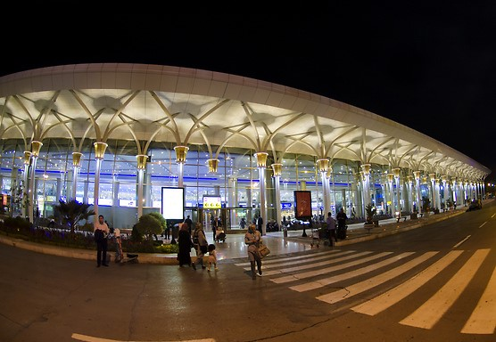 Mashhad Airport - Location