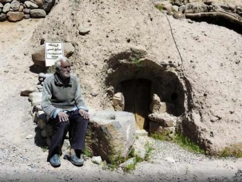 Meymand troglodyte village - UNESCO World Heritage Site Iran