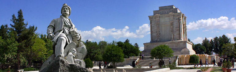 Mashhad Attaractions - Tomb of Ferdowsi - Apochi.com